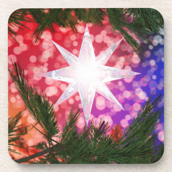 All Is Bright Christmas Coasters