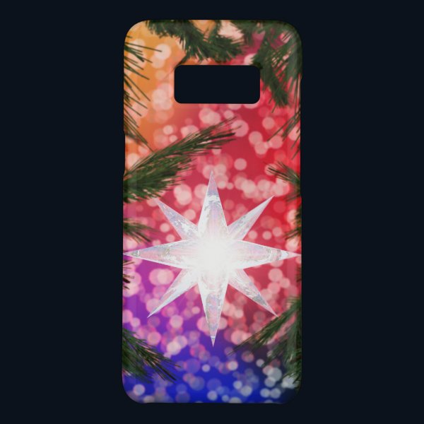 All Is Bright Christmas Galaxy Case
