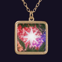 All Is Bright Christmas Necklace