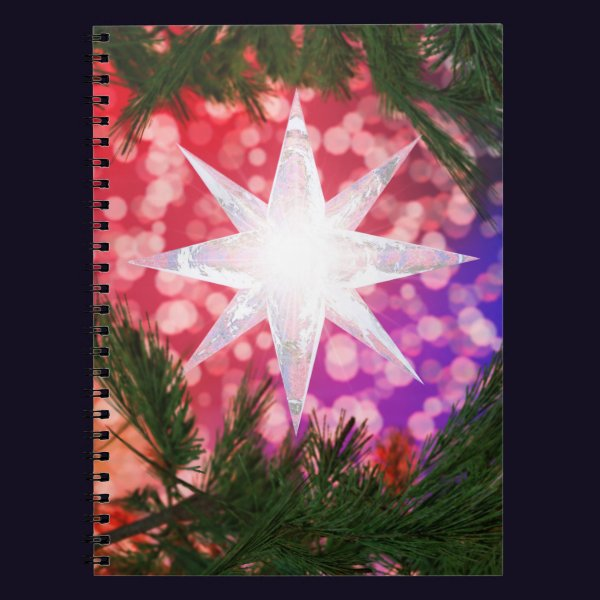 All Is Bright Christmas Notebook