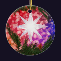 All Is Bright Christmas Ornament