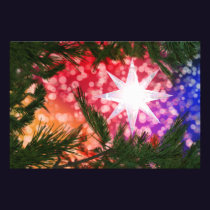 All Is Bright Christmas Photo Print