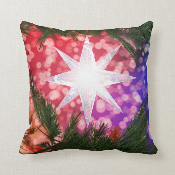 All Is Bright Christmas Pillow