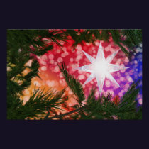 All Is Bright Christmas Print
