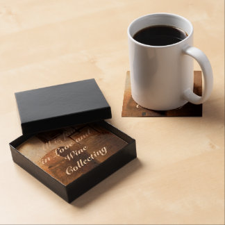All is fair in love and wine collecting - gift set coasters