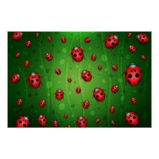 All is Full of Ladybugs Poster