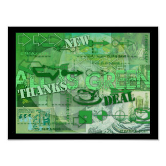 All is Green - St Patrick and more - Poster