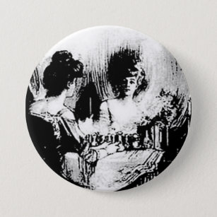 All Is Vanity Charles Allan Gilbert Button