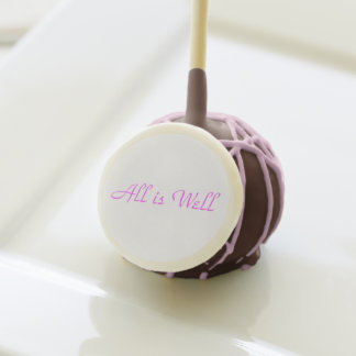 All is Well Cake Pops!