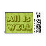 All Is Well Postage Stamp