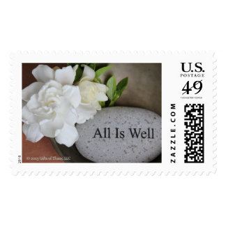 'All is Well', various rates - 20 Postage Stamps
