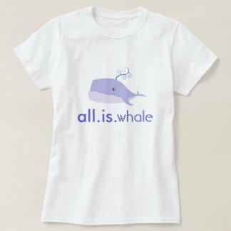 All is whale (Blue, Women) T-Shirt