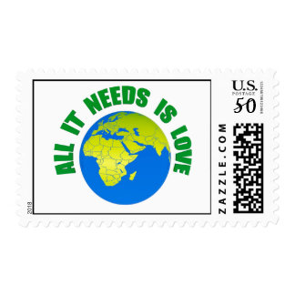 All it needs is love stamp