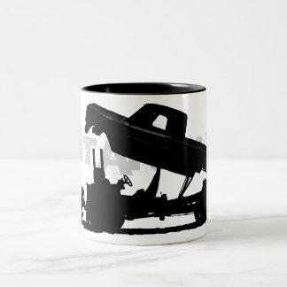 All jacked up Two-Tone coffee mug