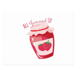 All Jammed Up Postcard