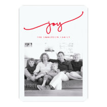 All Joy Holiday Photo Card