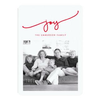 All Joy Holiday Photo Card