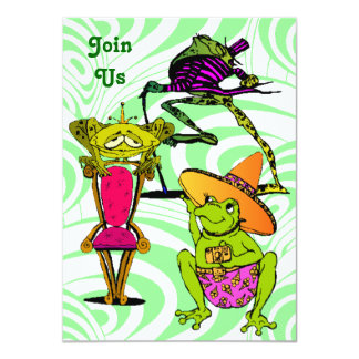 All Kinds Fun Family Reunion Party Invitations