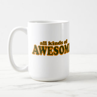 All Kinds of Awesome Coffee Mug