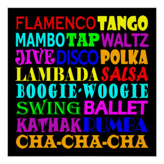 All Kinds Of Dance Poster