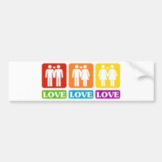 All Kinds Of Love Bumper Sticker