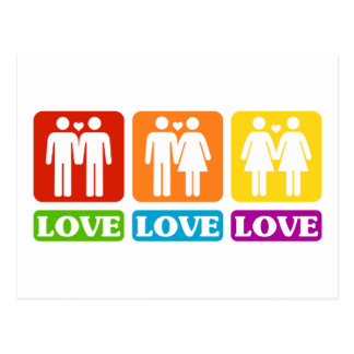 All Kinds Of Love Postcard