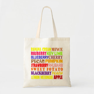 All Kinds Of Pie Tote Bag