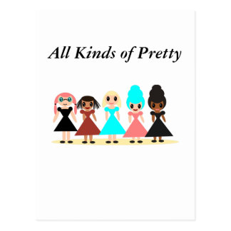 All Kinds of Pretty Postcard