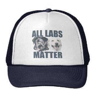 All labs matter trucker hat