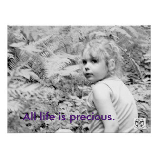 All Life is Precious. Poster