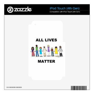 All Lives Matter iPod Touch 4G Skin
