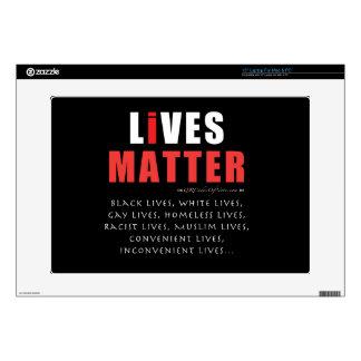 All Lives Matter. Laptop skin. Laptop Decal