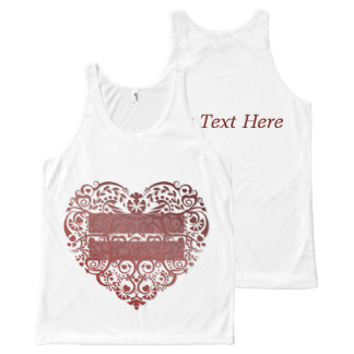 """All Love Is Equal"" Filigree Heart - T-Shirt"