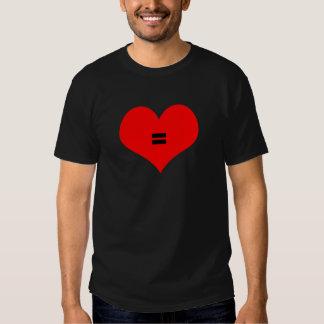 All love is equal, NO H8 Tshirt