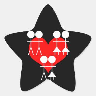 All Loves Star Sticker