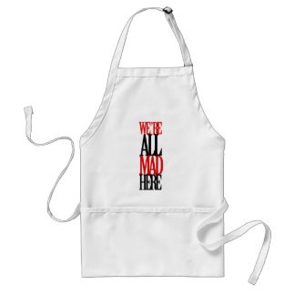 All Mad Here Adult Apron