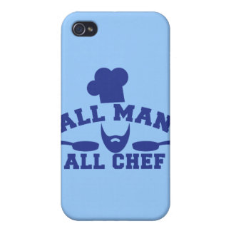 ALL MAN - all chef iPhone 4/4S Case