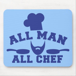 ALL MAN - all chef Mouse Pad
