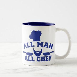 ALL MAN - all chef Mug