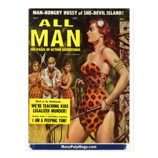 All Man, May 1959 Postcard