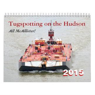 All Mc Allister2! Tugspotting on the Hudson Wall Calendar