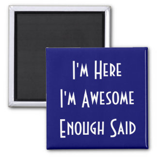 All Me 2 Inch Square Magnet