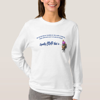 All Men are crap - humourous t shirt