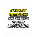 All Men Are Created Equal...Accountants Postcard