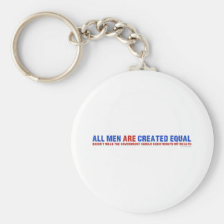 All Men Are Created Equal Keychain