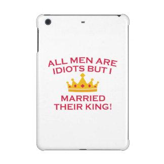All Men Are Idiots iPad Mini Retina Cases