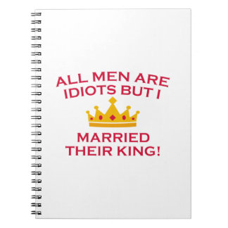All Men Are Idiots Notebook