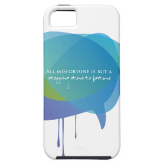 All misfortune is a stepping stone to Fortune iPhone 5 Case