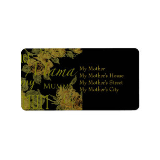 All Mothers' Day Address Label