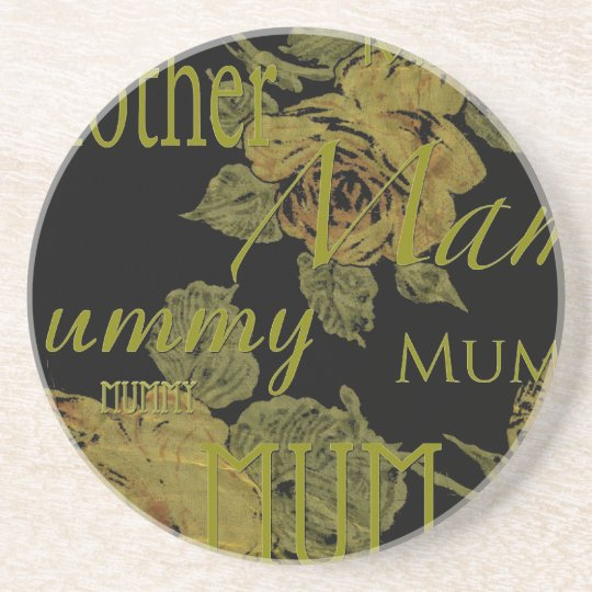 All Mothers' Day Sandstone Coaster